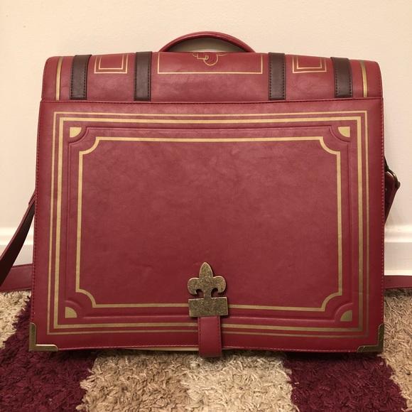 924490e85b7 ThinkGeek Bags   Leatherlook Olde Book Messenger Bag   Poshmark